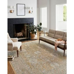Rosemarie Oriental Gold/Sand Area Rug   Wayfair North America