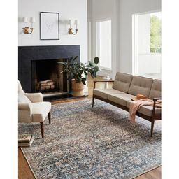 Jules Oriental Denim/Spice Area Rug   Wayfair North America
