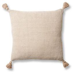 Montauk 20x20 Pillow, Natural Linen   One Kings Lane