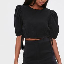 Puff-Sleeve Top & Shorts Set | Forever 21 (US)