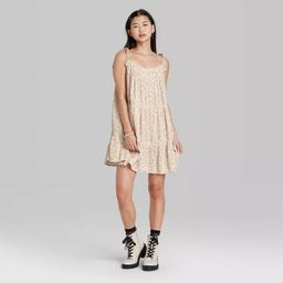 Women's Woven Sleeveless Tiered Swing Dress - Wild Fable™   Target