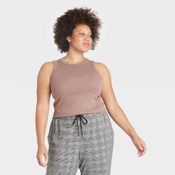 Women's Rib Tank Top - A New Day™   Target