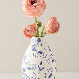 Floral Ceramic Bud Vase | Anthropologie (US)