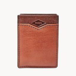 Easton RFID Front Pocket Wallet | Fossil (US)