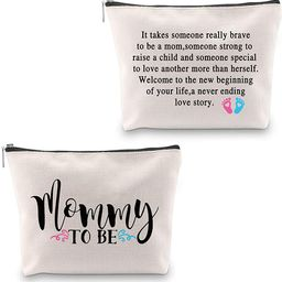 G2TUP Mom Cosmetic Bag Gifts for Pregnant Women Mommy Mothers Day Gifts Travel Make Up Bag (Mommy...   Amazon (US)