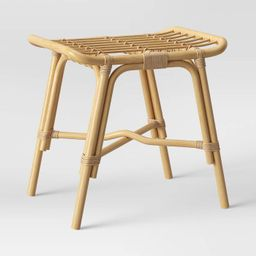 Target/Furniture/Living Room Furniture/Ottomans & BenchesMojave Rattan Ottoman Natural - Opalh...   Target