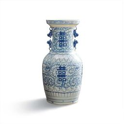 Chinoiserie Happiness Vase   Frontgate