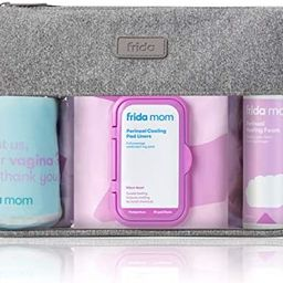Frida Mom Hospital Packing Kit for Labor, Delivery, & Postpartum | Nursing Gown, Socks, Peri Bott... | Amazon (US)