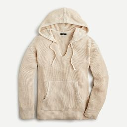 Ribbed cotton-cashmere hoodie   J.Crew US