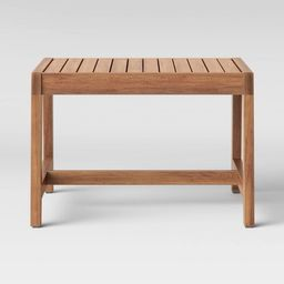 Lena Wood Patio End Table - Brown - Project 62™   Target