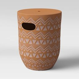 Global Terracotta Patio Accent Table - Opalhouse™   Target