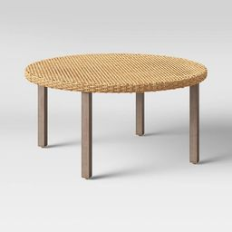 Eliot Closed Weave Patio Coffee Table - Threshold™   Target