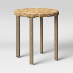 Eliot Closed Weave Patio Accent Table - Threshold™   Target