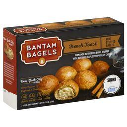 Bantam Bagels Bantam Bagels  Bagels, 6 ea | Walmart (US)