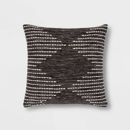 Modern Stitched Square Throw Pillow - Project 62™ | Target
