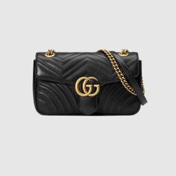 GG Marmont small matelassé shoulder bag | Gucci (US)