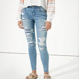 AE Ne(x)t Level Patched Jegging | American Eagle Outfitters (US & CA)