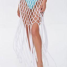 Crochet Fringe Maxi Skirt | Forever 21 (US)