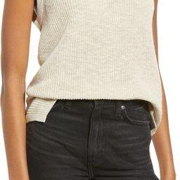 Cotton & Linen Blend Sleeveless SweaterTREASURE & BOND | Nordstrom