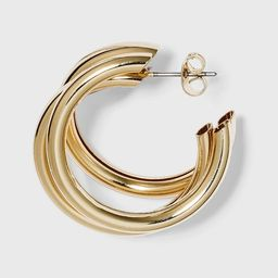 Multi Tube Hoop Earrings - A New Day™ Gold   Target
