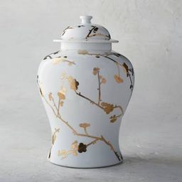 Gilded Blossoms Ginger Jar   Frontgate