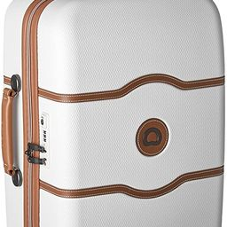 DELSEY Paris Chatelet Hardside Luggage with Spinner Wheels, Champagne White, Carry-on 21 Inch, wi... | Amazon (US)