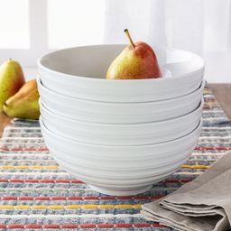 Better Homes & Gardens Anniston Round Porcelain Serve Bowls, Set of 4 | Walmart (US)