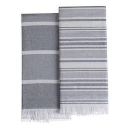 Better Homes & Gardens Fringed Metal Night Kitchen Towels, Set of 2 | Walmart (US)