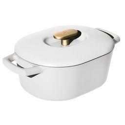Beautiful 6QT Enamel Dutch Oven, White Icing | Walmart (US)