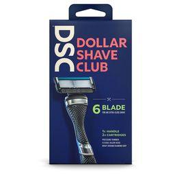 Dollar Shave Club Razor Handle + Two 6-Blade Cartridges | Target