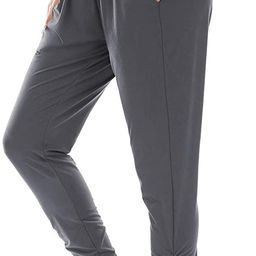 OYANUS Womens Active Joggers Pants Workout Yoga Sweatpants for Women with Pockets Loose Comfy Jer... | Amazon (US)