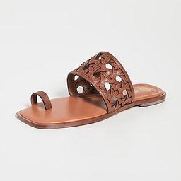 Basket Weave Slides   Shopbop