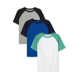 The Children's Place Boys Raglan T-Shirt, 3-Pack, Sizes XS-XXL   Walmart (US)