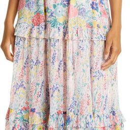 Iris Smocked Bodice Cotton Maxi Dress   Nordstrom