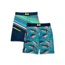 Wonder Nation Boys' Quick Dry Swim Trunks with UPF 50 +, Sizes 4-18 & Husky   Walmart (US)