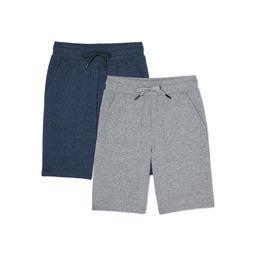 Athletic Works Boys Jersey Knit Sweat Shorts, 2-Pack, Sizes 4-18 & Husky   Walmart (US)