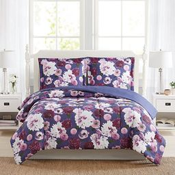 CLOSEOUT! Bloomy Reversible 3-Pc. Comforter Mini Sets, Created for Macy's | Macys (US)