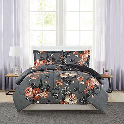 Pem America Manilla Floral Twin 3-Pc. Comforter Set & Reviews - Comforter Sets - Bed & Bath - Mac... | Macys (US)