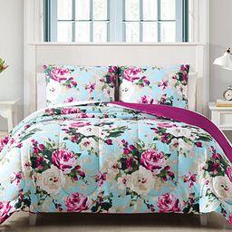 Hallmart Collectibles Ambrosia 2-Pc. Reversible Twin Comforter Set & Reviews - Comforter Sets - B... | Macys (US)