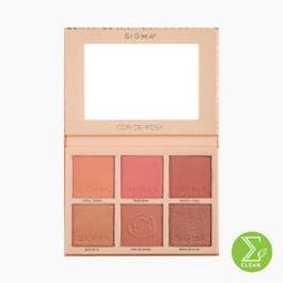 Cor-de-Rosa Blush Palette | Sigma Beauty