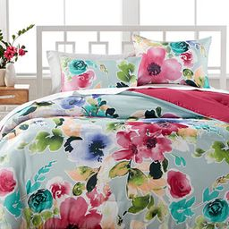 Amanda 3-Pc. Reversible Comforter Sets | Macys (US)
