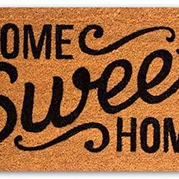 """Coco Coir Door Mat with Heavy Duty Backing, Home Sweet Home Doormat, 17""""x30"""" Size, Easy to Cl...   Amazon (US)"""