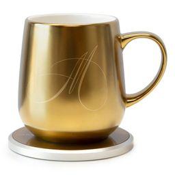OHOM Ui Monogram Golden Mug & Warmer Set | Nordstrom | Nordstrom