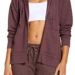 Zella Women's Coastal High/Low Zip Hoodie | Nordstrom | Nordstrom