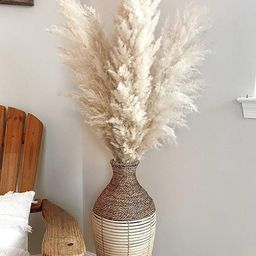 5 Large 4ft Tall Fluffy Natural Dried Pampas Grass; Trending Decor- Home, Shower, Wedding, Farmho... | Etsy (US)