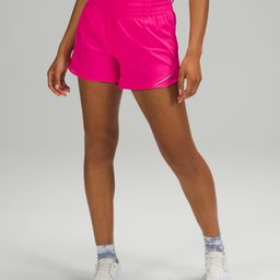 "Hotty Hot High-Rise Short 4"" *Online Only   Women's Shorts   lululemon   Lululemon (US)"