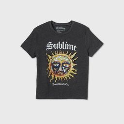 Women's Sublime Short Sleeve Graphic T-Shirt - Charcoal Heather   Target