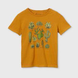 Women's Cactus Short Sleeve Graphic T-Shirt (Juniors') - Gold   Target