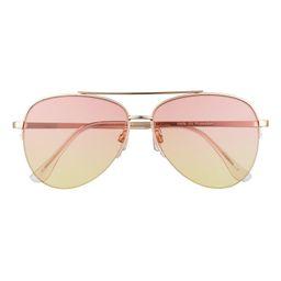 Gradient Aviator Sunglasses | Nordstrom
