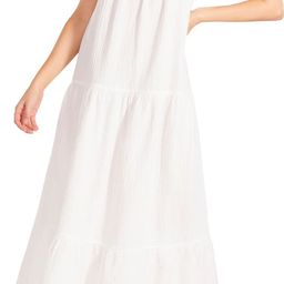 Arianna Sleeveless Tiered Cotton Maxi Dress   Nordstrom